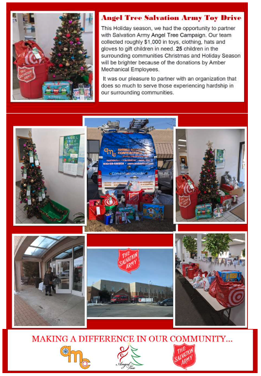 Angel Tree Salvation Army Toy Drive