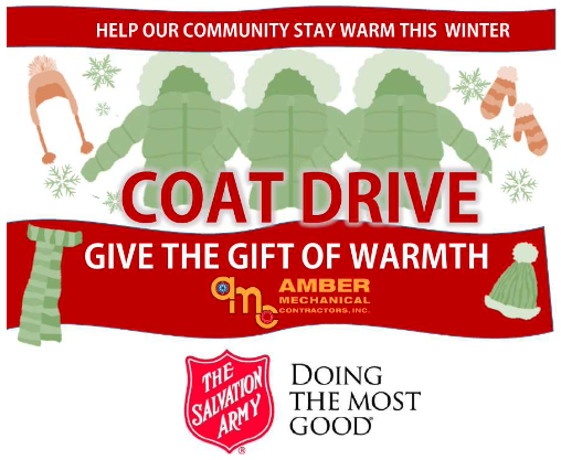 Salvation Army Coat Drive